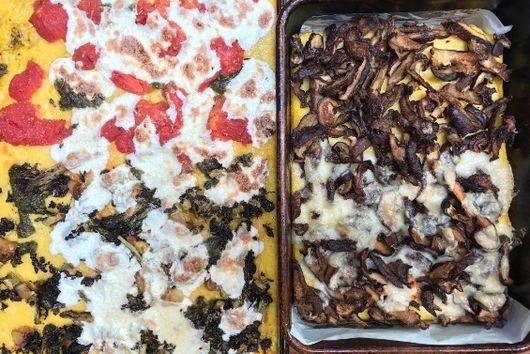 "Polenta ""Pizza"" Crust"