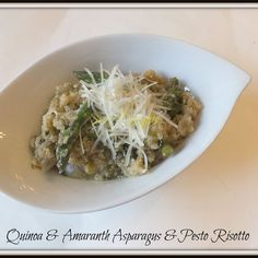 Quinoa & Amaranth Asparagus Risotto