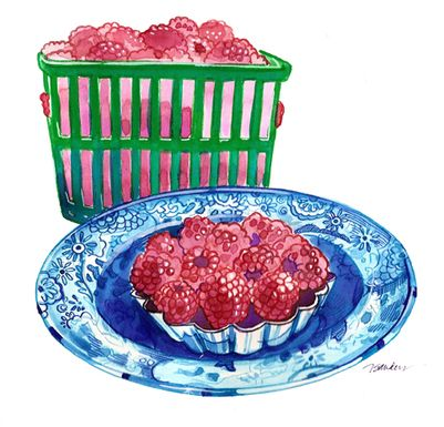 Raspberry Tarts from Strawberry Hill