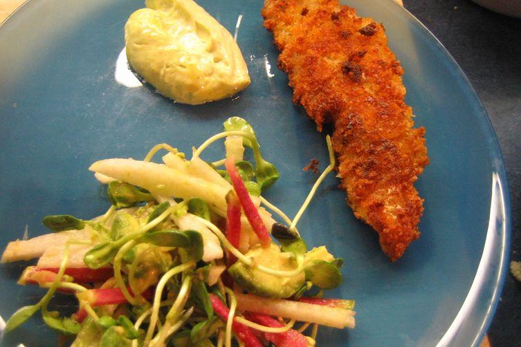Deborah Madison's Jicama, Orange, and Watermelon Radish Salad