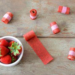 Strawberry Lemonade Fruit Roll Ups