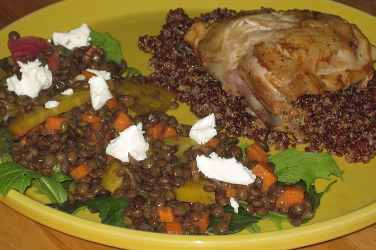 Lentil Salad with Beets