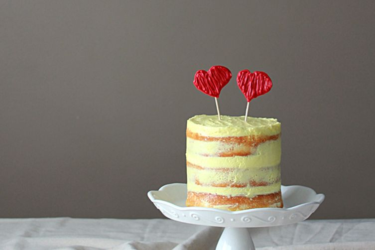Lemon Sponge Valentine Cake Recipe On Food52