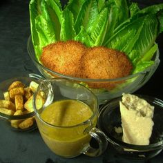 Caesar Salad Stuff and Dressing Recipe