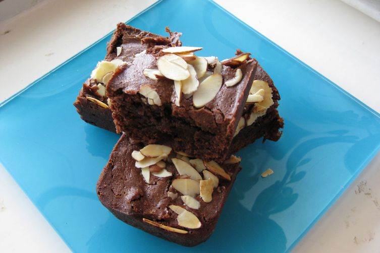 Amaretto Cherry Brownies