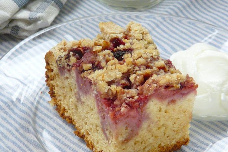 Strawberry Streusel Cake Lightened Up Recipe On Food52
