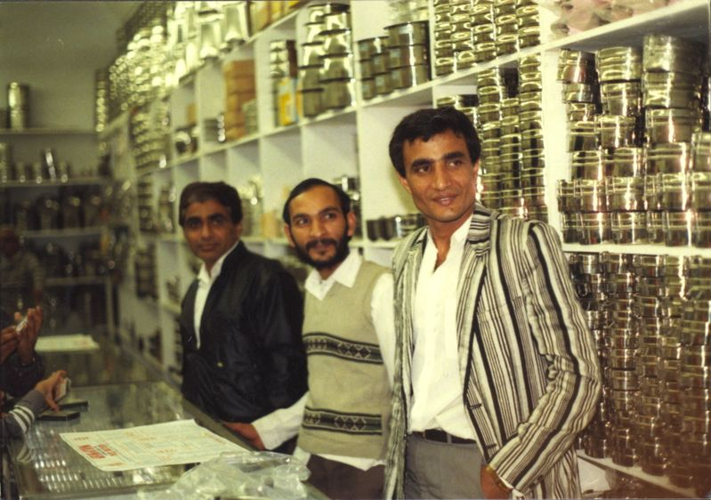 Inside Patel Brothers in Chicago.