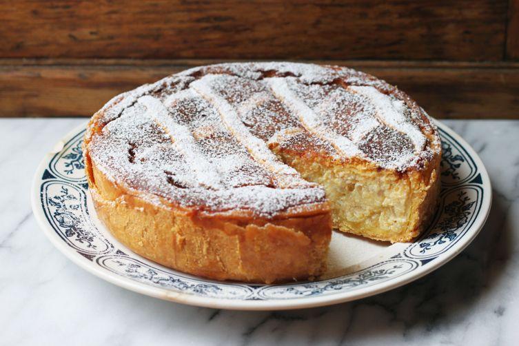 Pastiera Recipe (Ricotta and Cooked Grains Cake)