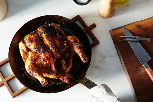 Cajun Dry-Brined Roast Chicken Inspired by Zuni Café
