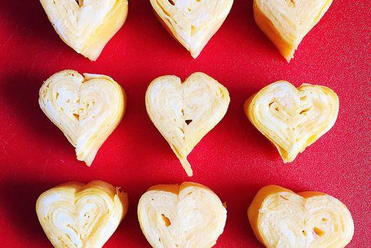 Heart-Shaped Tamagoyaki (Japanese Omelet)