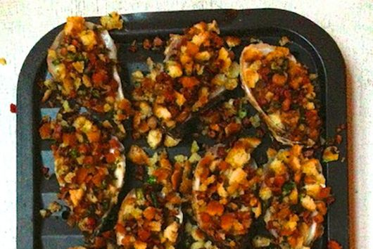 Broiled Oysters