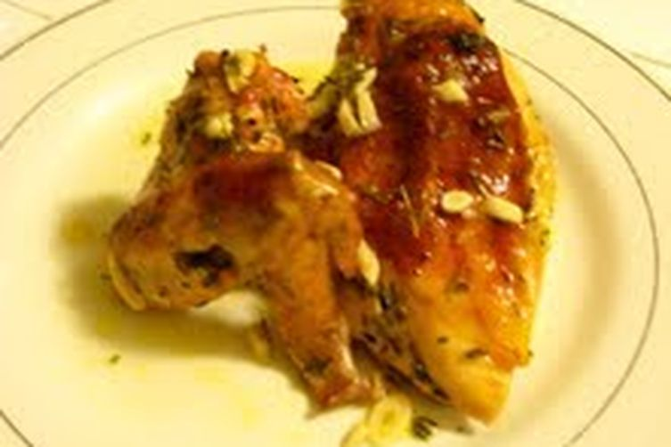 Tangy Herb and Lemon Roasted Chicken