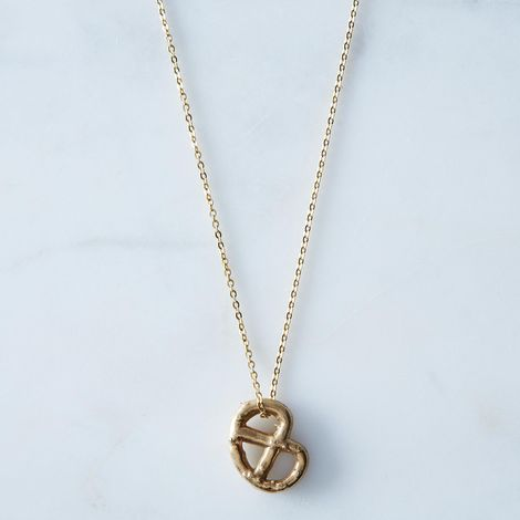 Pretzel Necklace