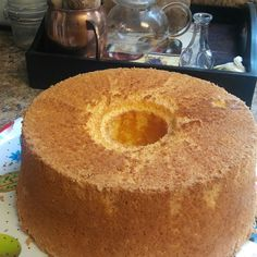 Grandma Meade's Orange Sunshine Angel Food Cake