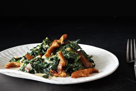 Trent Pierce's Miso-Creamed Kale