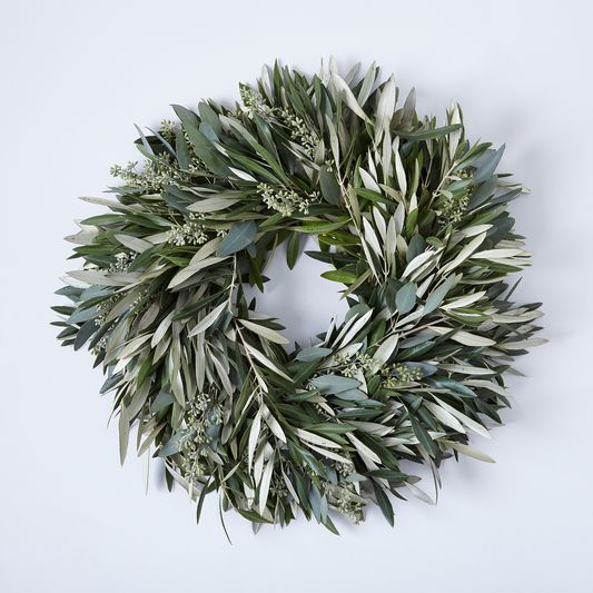 Olive & Eucalyptus Wreath