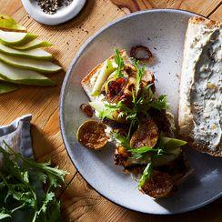 A Balsamic Chicken Sandwich with A Sweet Secret