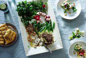 85a160e6 f27a 414e b3f6 fac774d271b5  2016 0307 persian new year herb platter with feta walnuts radhises and flatbread james ransom 043