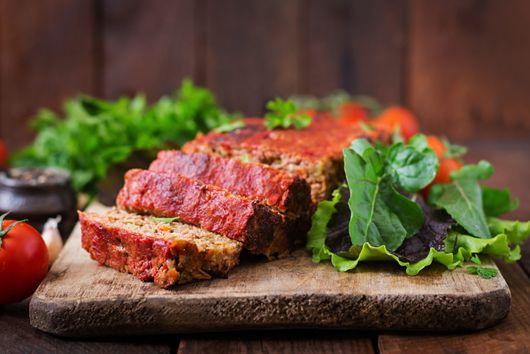 """Vegetable """"Meat"""" Loaf"""