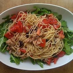 Mediterranean-Inspired Tuna Pasta Salad