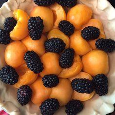 Apricot Blackberry Pie