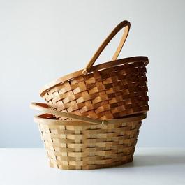 Wood Easter Basket