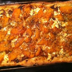 Pumpkin and Roasted Garlic Pizza
