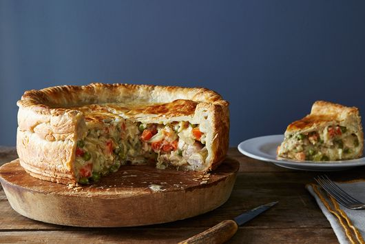 Deep-Dish Pot Pie, Where All Chicken (and Thanksgiving Turkey) Leftovers Want to Be