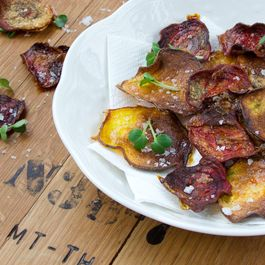 Smoky Beet Chips