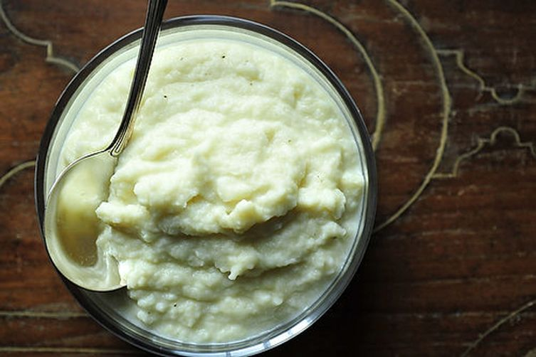 Autumn Celeriac (Celery Root) Puree