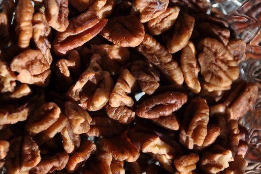 Crispy Cardamom-Brined Pecans