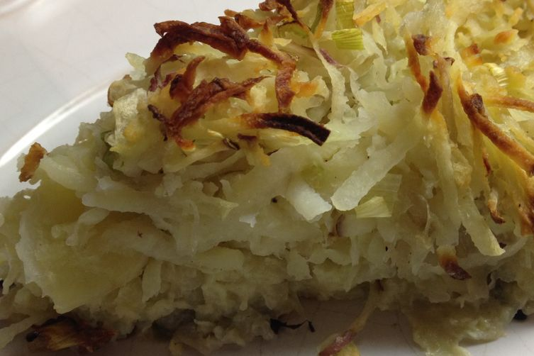 Extra-Crispy Extra- Tender Kugel with a Sweet Onion Crust