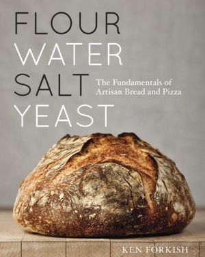 flour water yeast salt