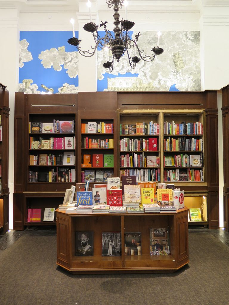 The New Rizzoli Bookstore in NYC