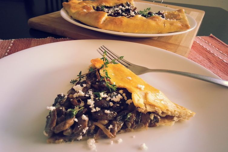 Mushroom and Caramelized Onion Galette