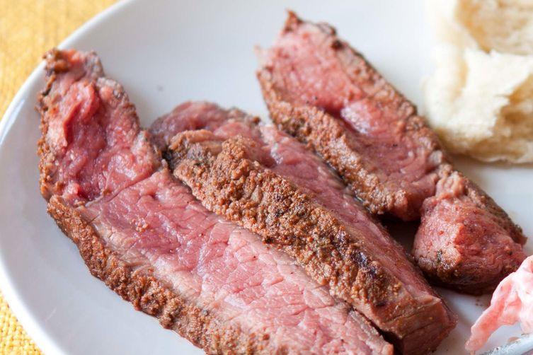 Spice Rubbed Steak Wraps