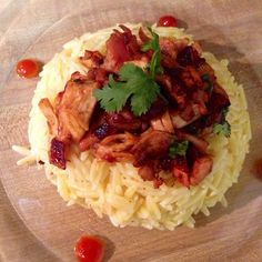 Orzo with Butter & Parmesan a la Chicken Fritz