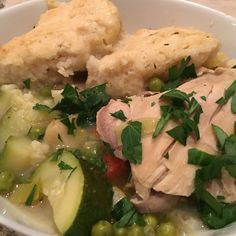 Bobbe's Chicken and Dumplings (sort of) for a Crowd
