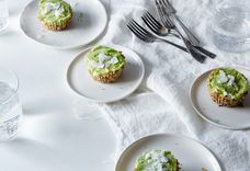 Raw Mini Key Lime Pies