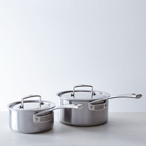 Zwilling Aurora 5-Ply Stainless Steel Saucepan with Lid