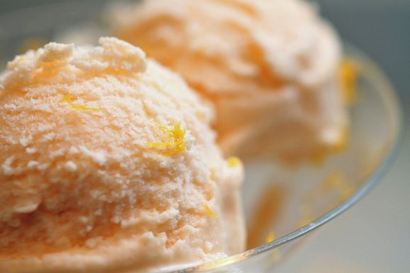 Melon Orange Blossom Gelato