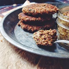 Lentil-Walnut Burgers with Mustard Greens and Caramelized Sweet Onions