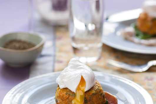 Sweet Potatoes and Bok Choi Patties!