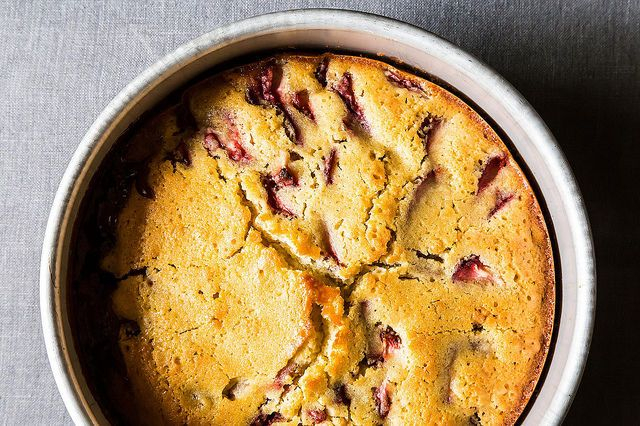 Strawberry Balsamic and Olive Oil Breakfast Cake on Food52