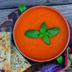Creamless 'Cream' of Tomato Soup