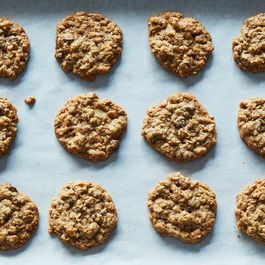 Crispy oatmeal chocolate chips cookies by Ed j