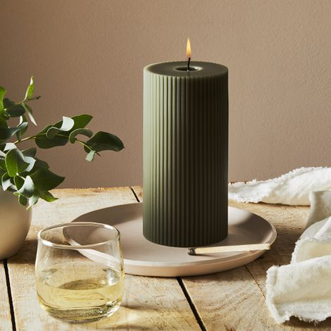 Fancy Pillar Candles
