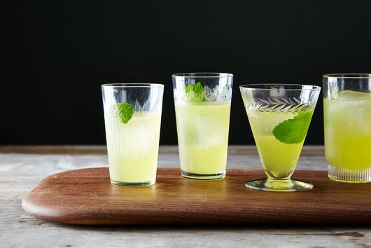 Minty Orange Gimlet