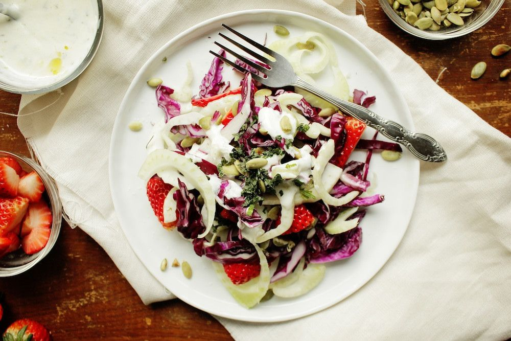 Fennel and Cabbage Salad