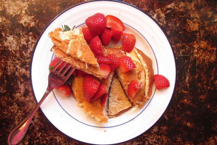 Honey Lemon Pancakes